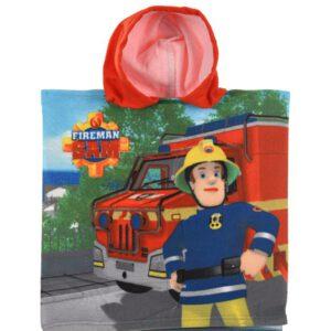 Brandweerman Sam Bad Poncho